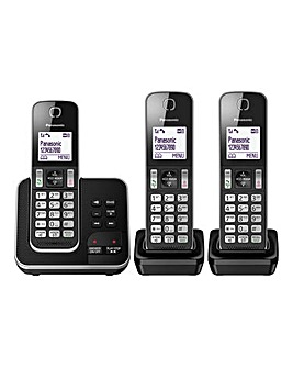 Panasonic Triple Phone Answer Machine