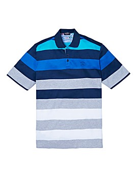 Paul & Shark Mighty Stripe Polo Shirt