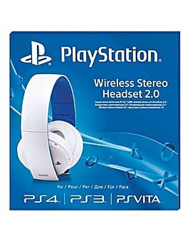 Playstation Wireless Headset White (PS4)