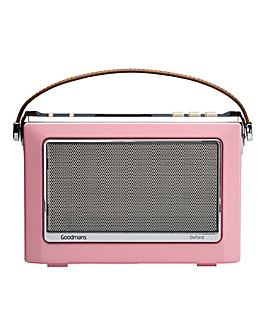 Goodmans DAB Radio with Bluetooth - Pink