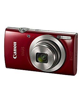 Canon IXUS 175 Camera Red 20MP 8x ZoomHD