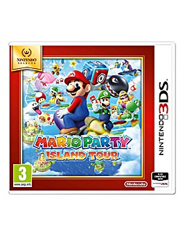 Mario Party Island Tour Select Range 3DS