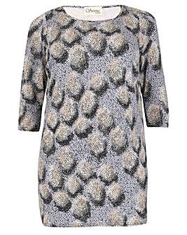 Sienna Couture Blur Print Top