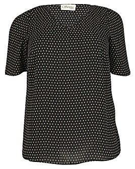 Sienna Couture Star Print Top