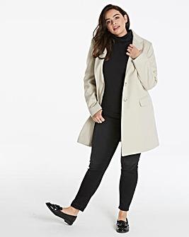 Helene Berman Crombie Coat