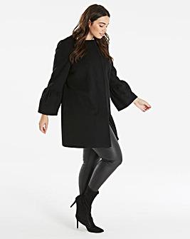 Helene Berman Trumpet Sleeve Coat