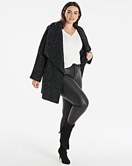 Helene Berman Waterfall Collar Coat