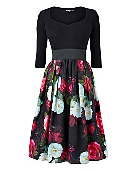 Scarlett & Jo Floral Twofor Dress