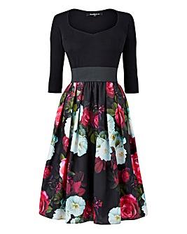 Scarlett & Jo Floral Twofor Dress