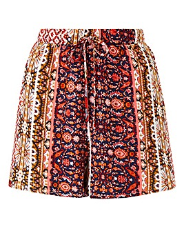Alice & You By Glamorous Print Shorts