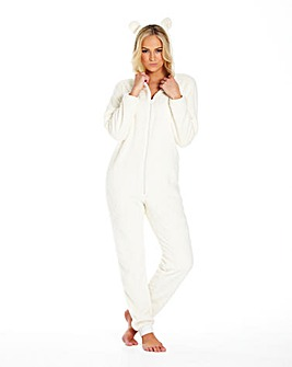 Pretty Secrets Cuddle Fleece Onesie