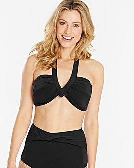 Beach to Beach Twist Detail Bikini Top