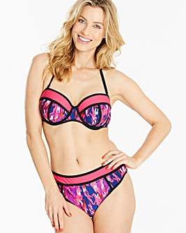 Simply Yours Underwired Ikat Bikini Top