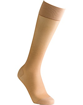 Silky Smooth Nylon Compression Socks