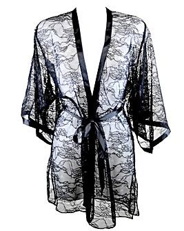 Pour Moi All Tied Up Kimono