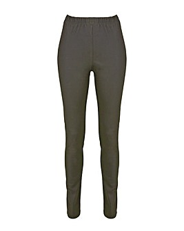 Simply Be Wax Coated Jeggings Reg