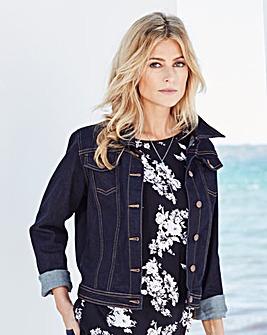 Western-Style Denim Jacket