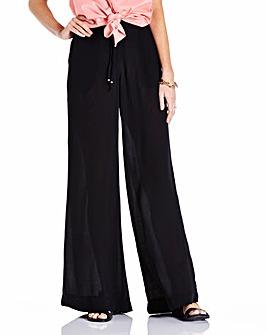 Wide Leg Trousers Long