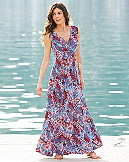 Joanna Hope Print Jersey Maxi Dress