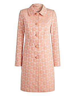 JOANNA HOPE Daisy Jacquard Coat