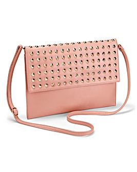 JOANNA HOPE Stud Detail Clutch Bag