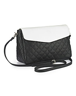 JOANNA HOPE Quilted Leather Clutch Bag