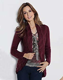 Together Cable Cardigan