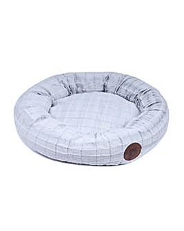 Petface White Cat Donut Bed