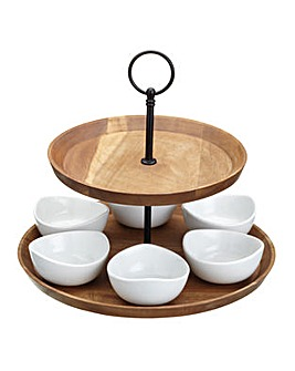 Master Class Two Tier Serving Set