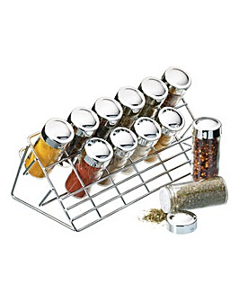Home Made Chrome Plated Spice Rack