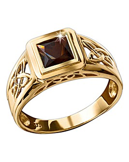 9ct Gold Celtic-Style Ring