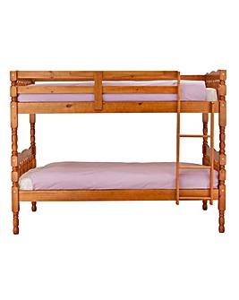 Serene Sleeper Deluxe Honey Pine Bunk Bd