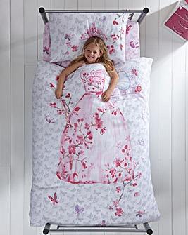 Glamour Princess Single Duvet Cover Set