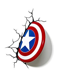Marvel Captain America Shield Wall Light