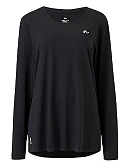 Clarissa Plain LS Training Tee