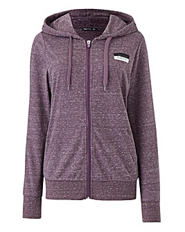 Macy Hood Zip Sweat