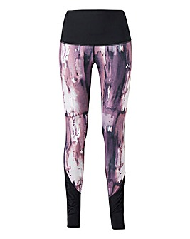Peace AOP Yoga Tights