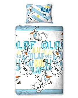 Disney Frozen Olaf Rotary Duvet Set
