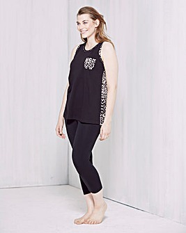 Pretty Secrets Vest & Legging Set