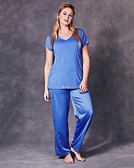 JOANNA HOPE Spot Print Pyjama Set