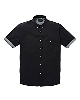 Label J Check Trim Shirt Long