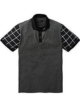 Label J Print Sleeve Polo Long