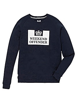 Weekend Offender HM Service Crew Sweat