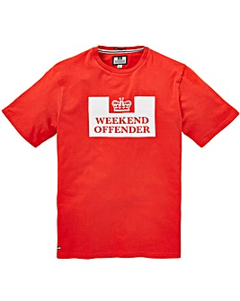 Weekend Offender Prison T-Shirt Regular