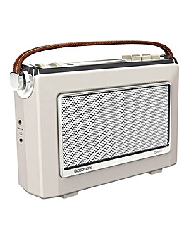 Goodmans DAB Radio - Cream