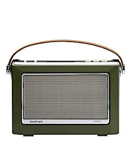 Goodmans DAB Radio - Green