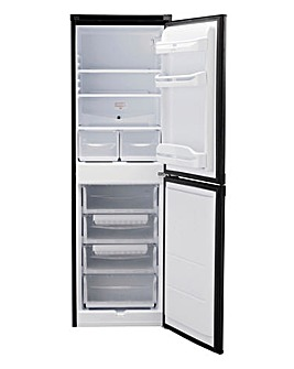 Indesit 55cm Fridge Freezer - Black