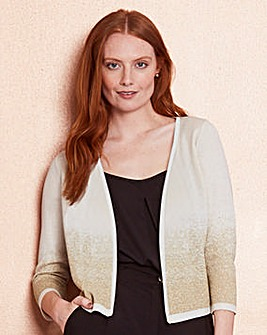 Metallic Edge to Edge Shrug