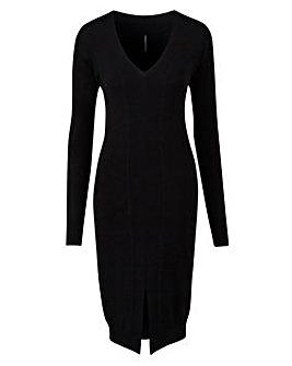Structured Midi Dress