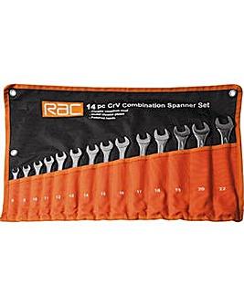 RAC 14 Piece Spanner Set.